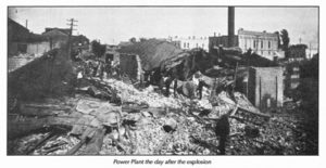 Power Plant after Explosion
