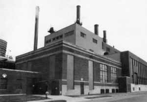 Old image of building