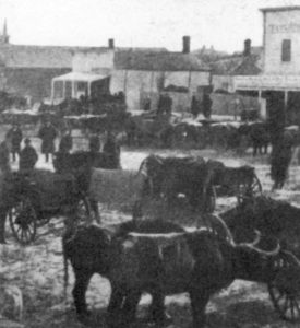 Old picture of downtown Willmar