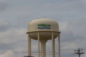 willmar water tower